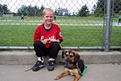 Jasper at ball field2